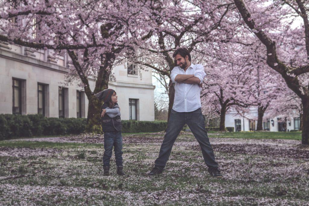 Padre e figlia in passaggio generazionale
