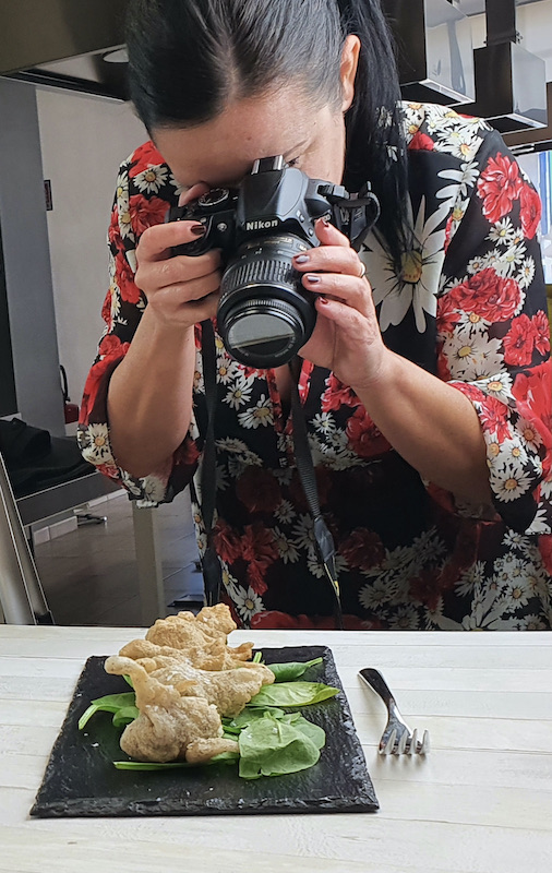 Patrizia Rimoldi photoshooting