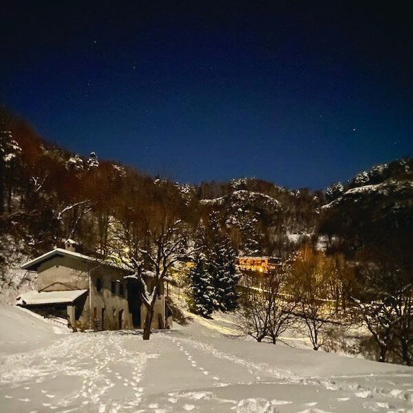 baita a Bellagio sul Lago di Como