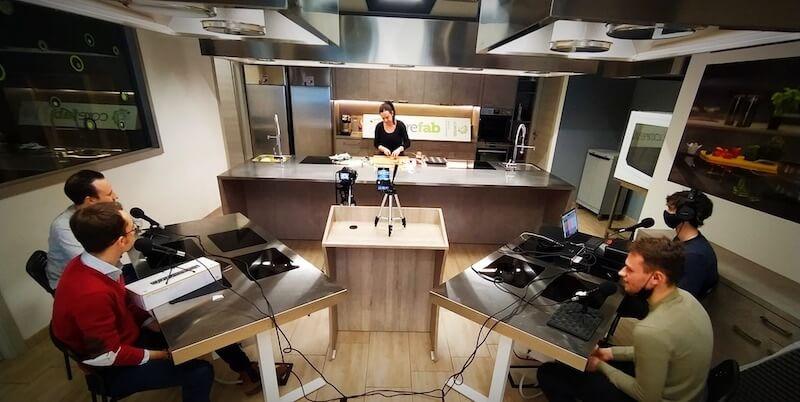 Affitto cucina per show cooking milano